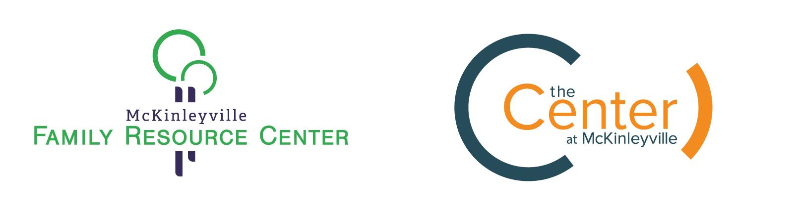 McKinleyville Family Resource Center and The Center Logos
